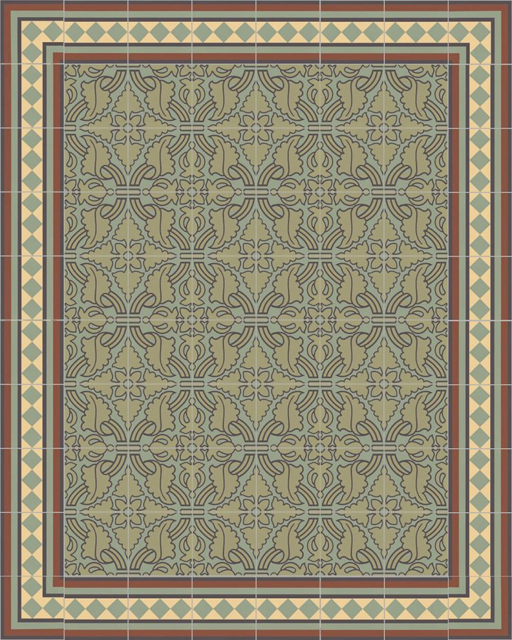 Floor tiles Floor Tiles multi-coloured Layouts and patterns SF 401 J e