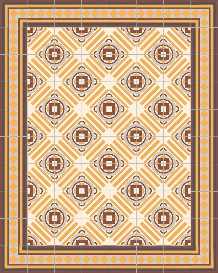 Floor tiles Floor Tiles multi-coloured Layouts and patterns SF 401 K e