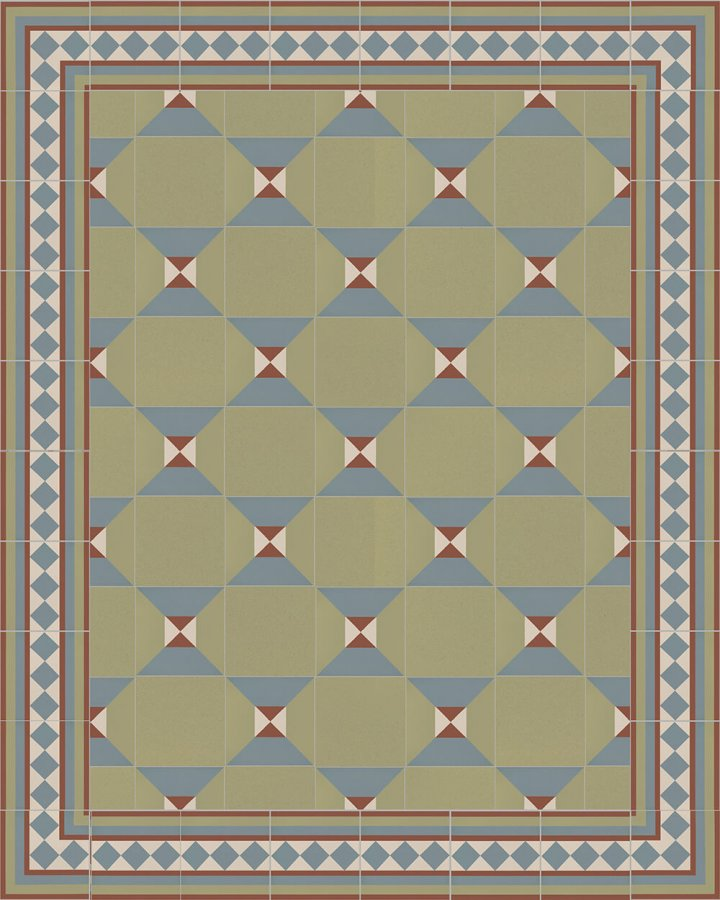 Floor tiles Floor Tiles multi-coloured Layouts and patterns SF 401 L e