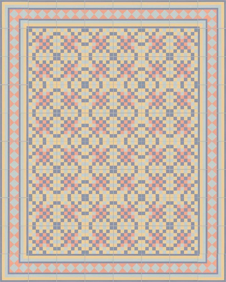 Floor tiles Floor Tiles multi-coloured Layouts and pattern SF 401 N