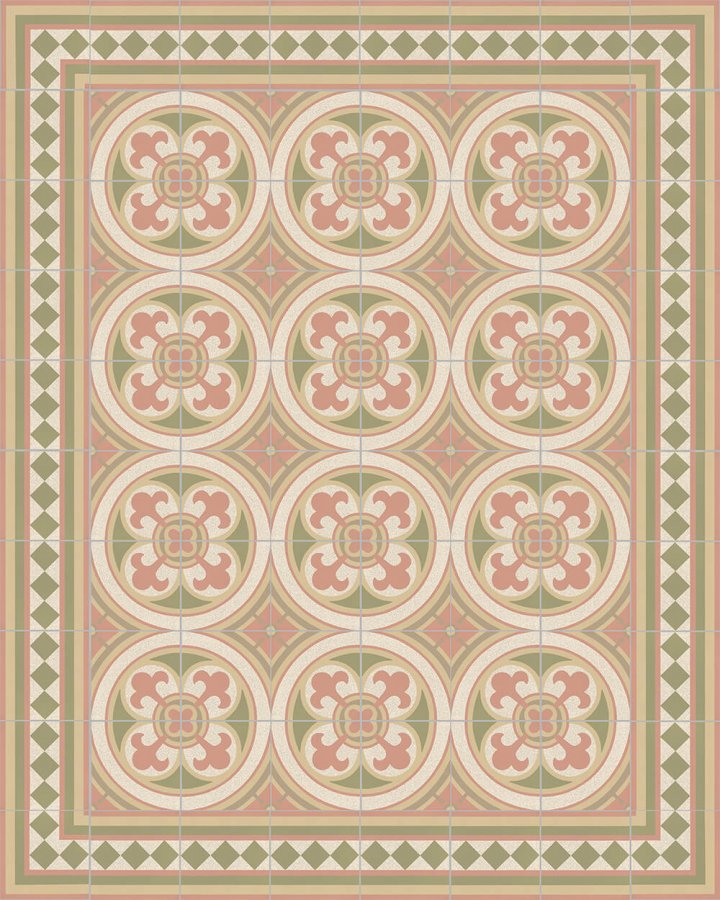 Floor tiles Floor Tiles multi-coloured Layouts and patterns SF 401 P