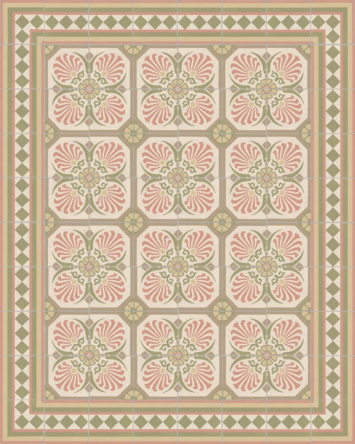 Floor tiles Floor Tiles multi-coloured Layouts and patterns SF 401 P e
