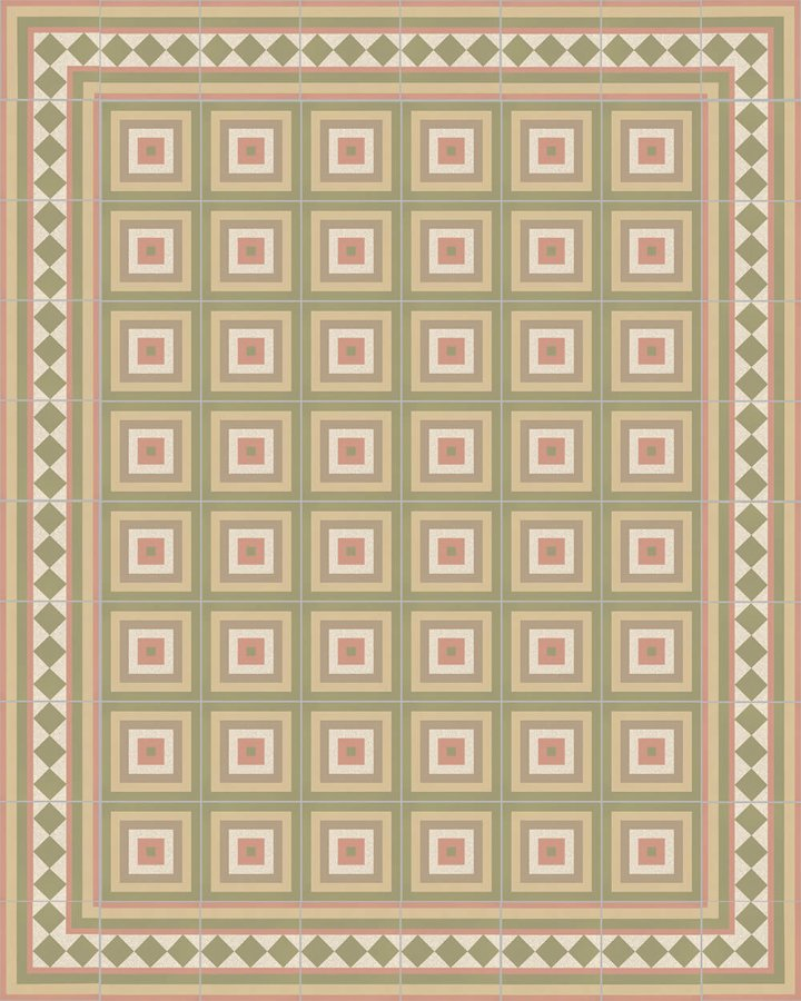 Floor tiles Floor Tiles multi-coloured Layouts and patterns SFTG 11504 P