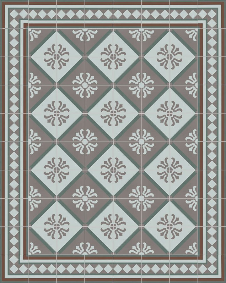 Floor tiles Floor Tiles multi-coloured Layouts and patterns SF 323 R