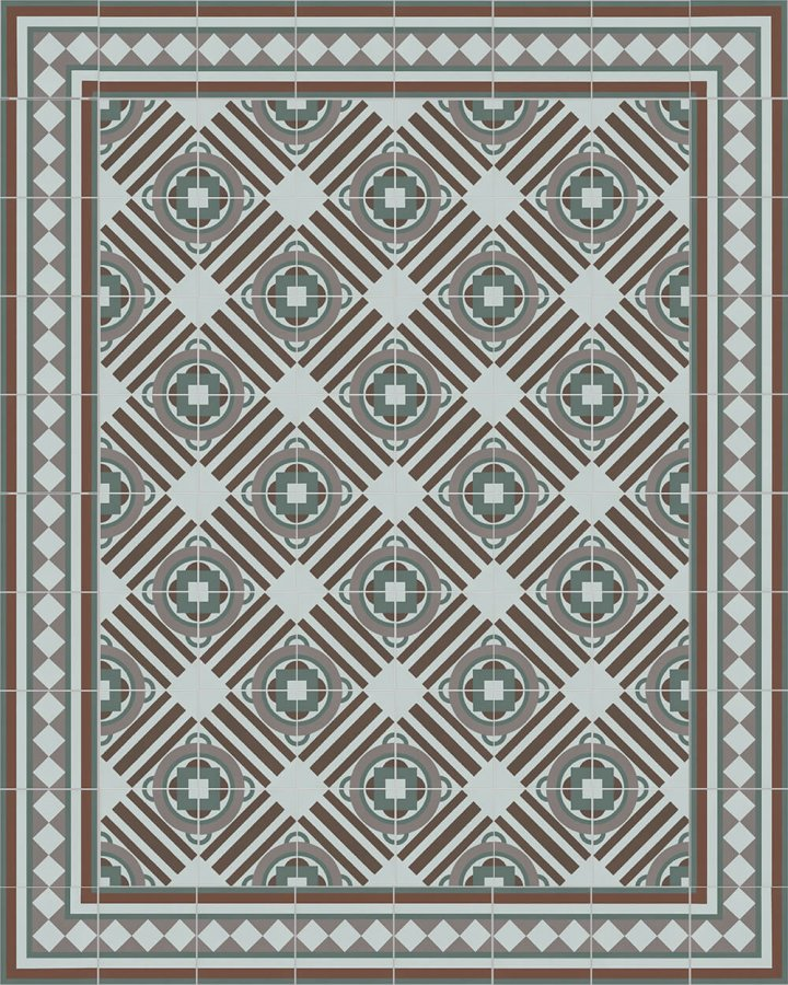 Floor tiles Floor Tiles multi-coloured Layouts and patterns SF 410 R