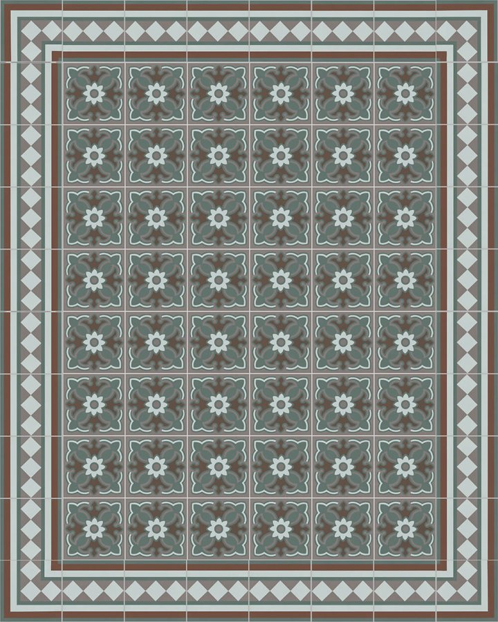 Floor tiles Floor Tiles multi-coloured Layouts and patterns SF 401 R