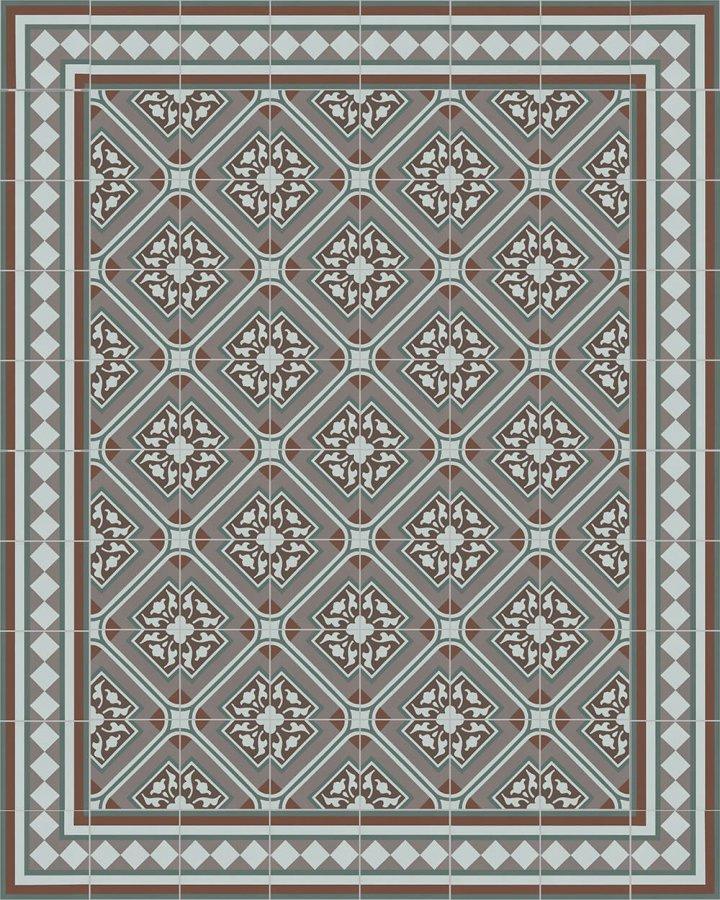 Floor tiles Floor Tiles multi-coloured Layouts and patterns SF 401 R e