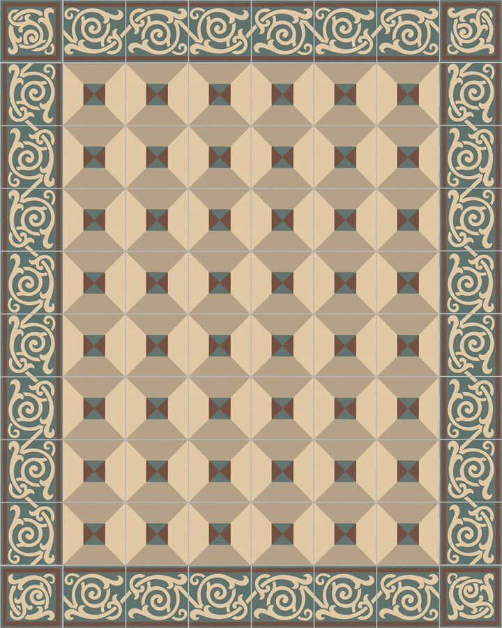 Floor tiles Floor Tiles multi-coloured Layouts and patterns SF 333 B