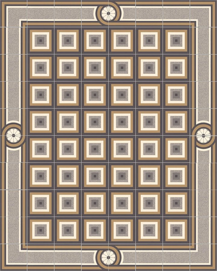 Floor tiles Floor Tiles multi-coloured Layouts and patterns SF 504 C