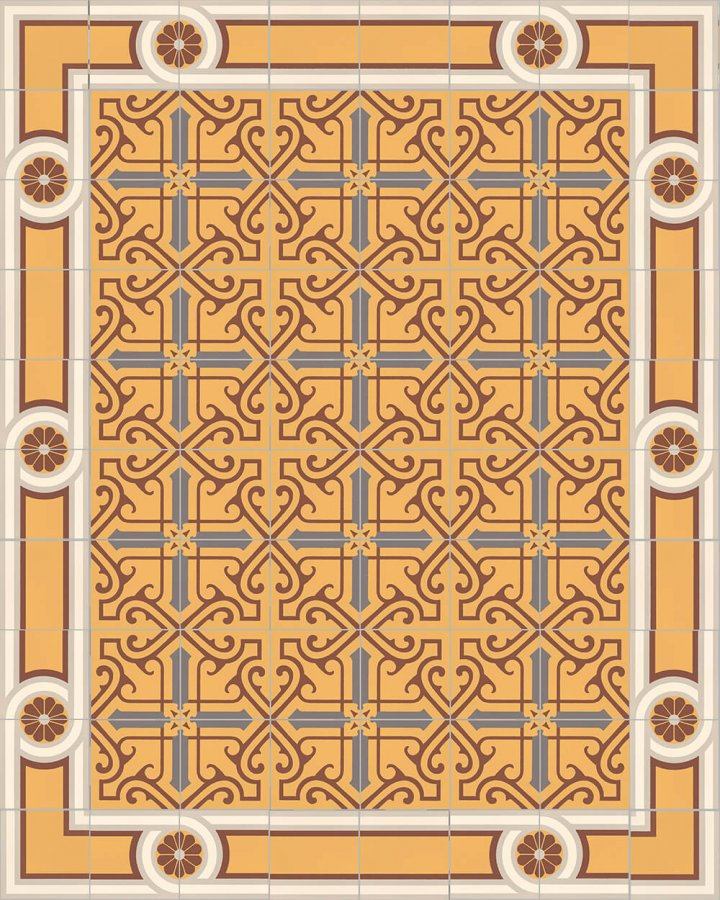 Floor tiles Floor Tiles multi-coloured Layouts and patterns SF 504 K