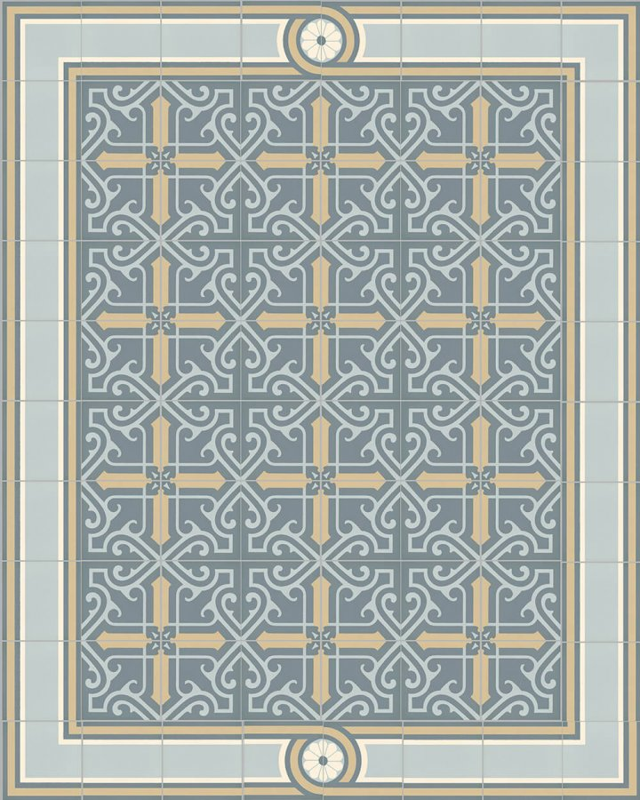 Floor tiles Floor Tiles multi-coloured Layouts and patterns SF 504 O