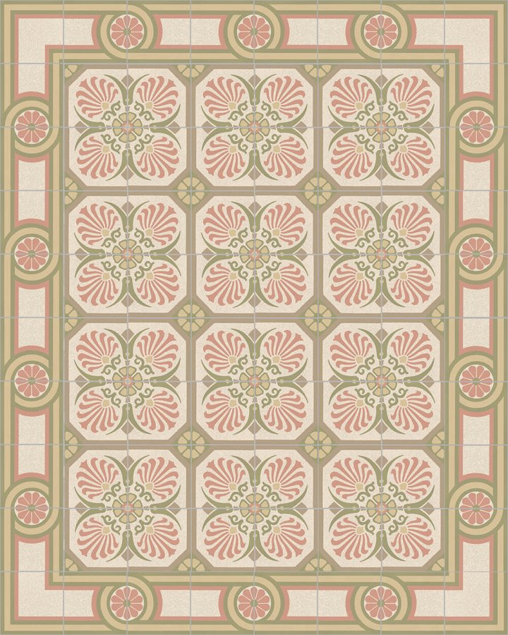 Floor tiles Floor Tiles multi-coloured Layouts and patterns SF 504 P
