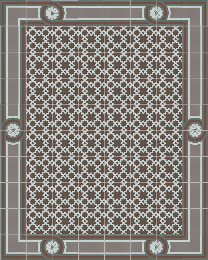 Floor tiles Floor Tiles multi-coloured Layouts and patterns SF 258 R