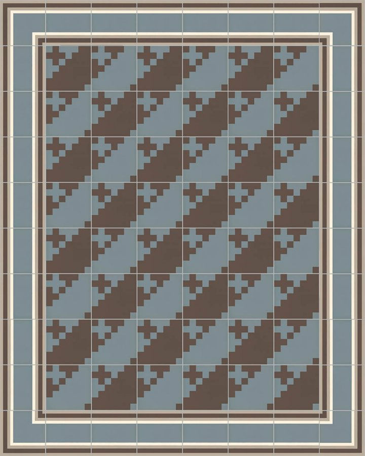 Floor tiles Floor Tiles multi-coloured Layouts and patterns SFTG 7201 A a