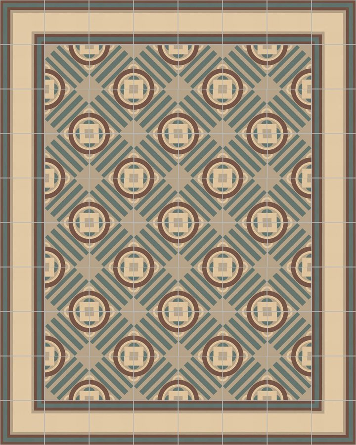 Floor tiles Floor Tiles multi-coloured Layouts and patterns SF 505 B e