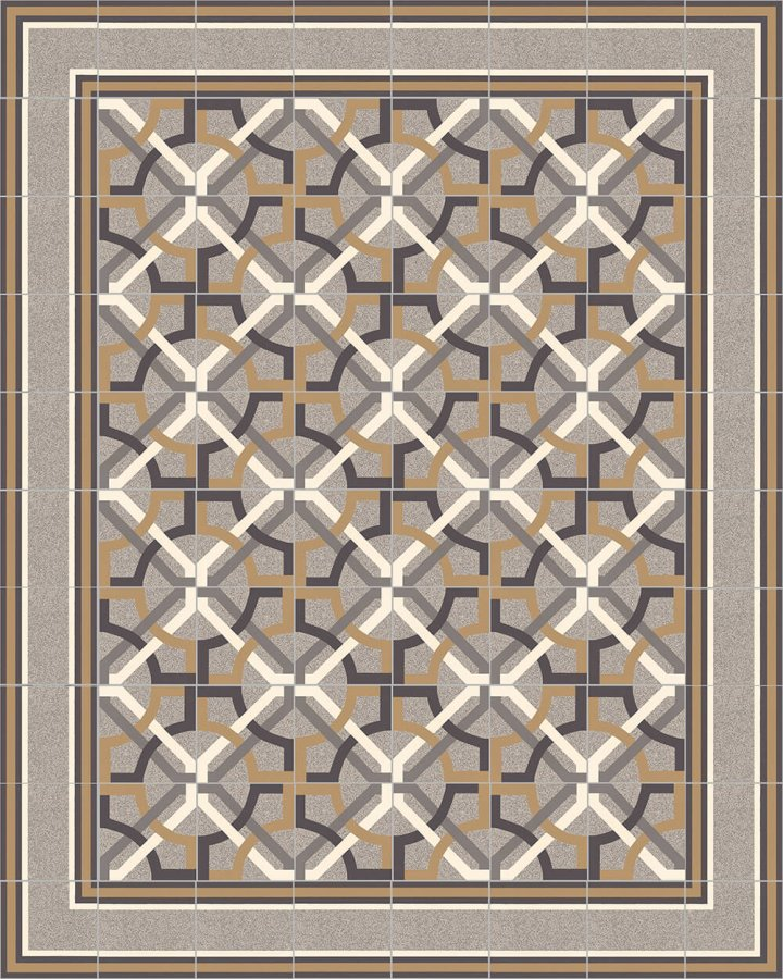 Floor tiles Floor Tiles multi-coloured Layouts and patterns SF 505 C e