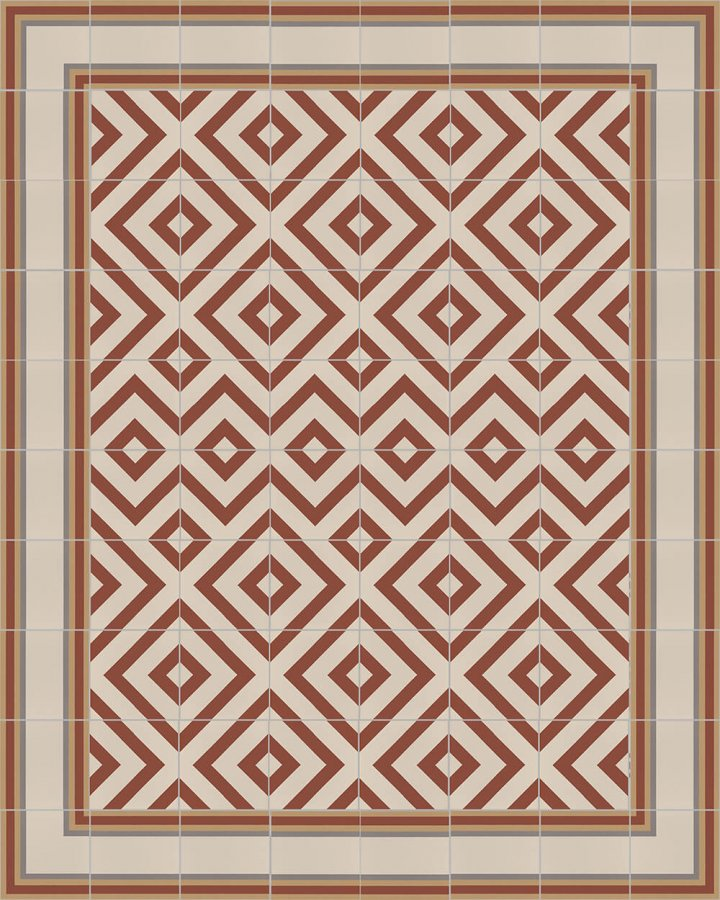 Floor tiles Floor Tiles multi-coloured Layouts and patterns SF 215 D