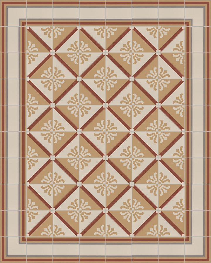 Floor tiles Floor Tiles multi-coloured Layouts and patterns SF 505 D