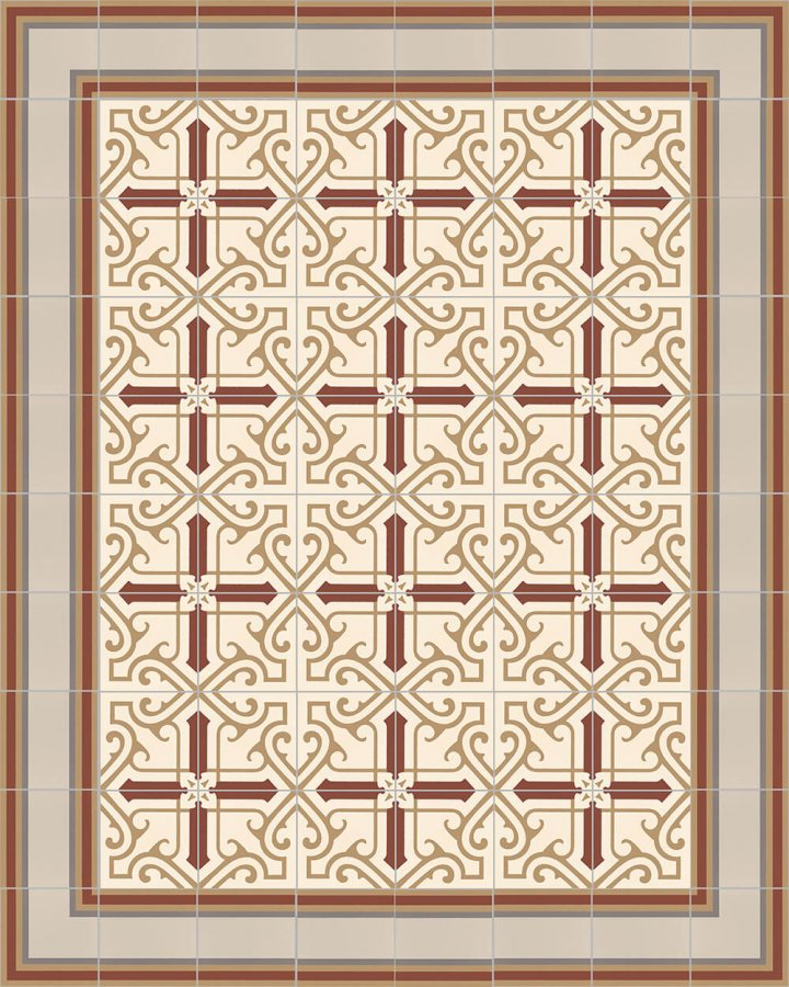 Floor tiles Floor Tiles multi-coloured Layouts and patterns SF 505 D e