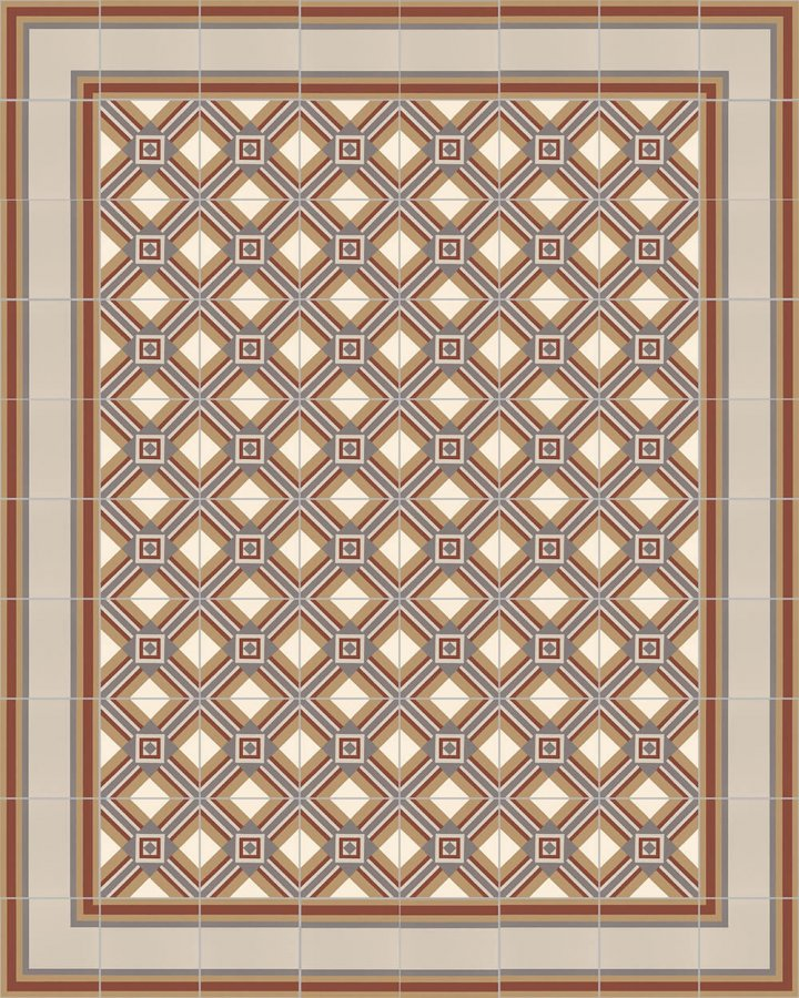 Floor tiles Floor Tiles multi-coloured Layouts and patterns SF 559 D