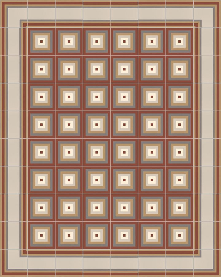 Floor tiles Floor Tiles multi-coloured Layouts and patterns SFTG 11504 D