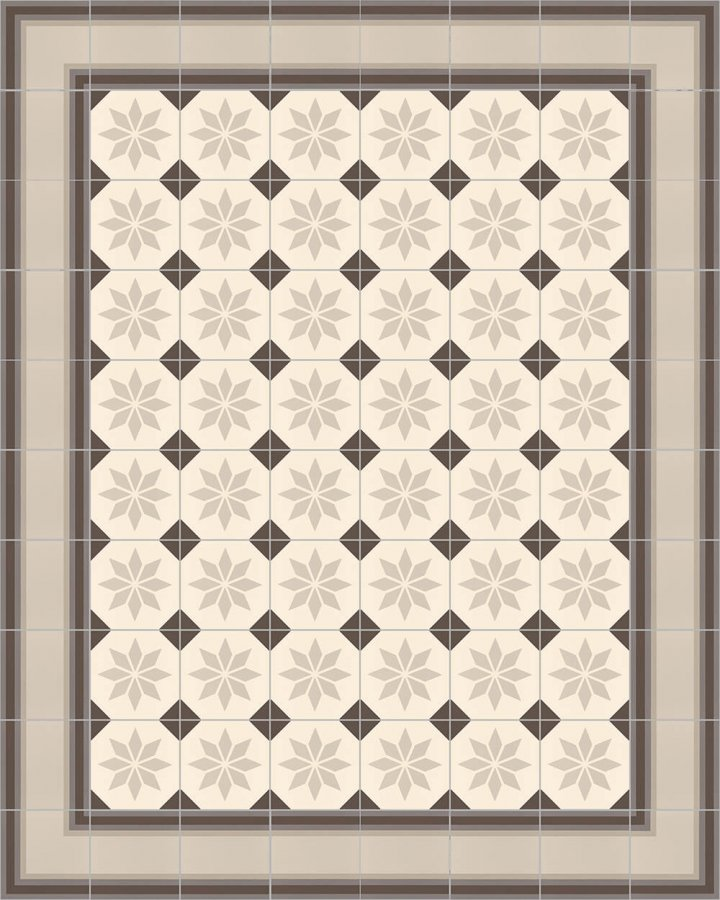 Floor tiles Floor Tiles multi-coloured Layouts and patterns SF 505 E