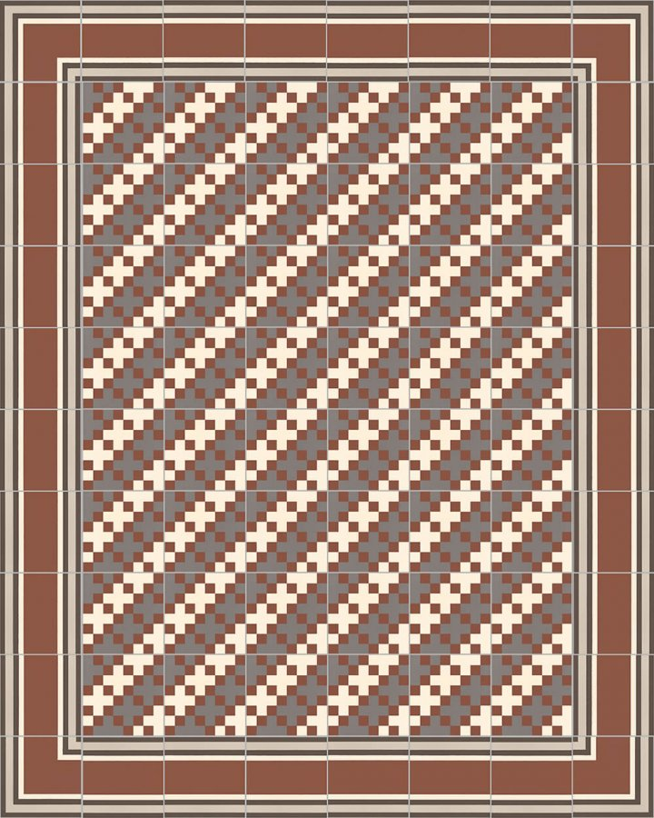 Floor tiles Floor Tiles multi-coloured Layouts and patterns SFTG 8306 F