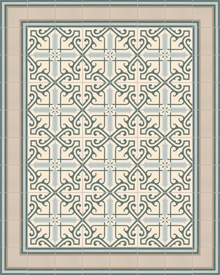 Floor tiles Floor Tiles multi-coloured Layouts and patterns SF 505 G e