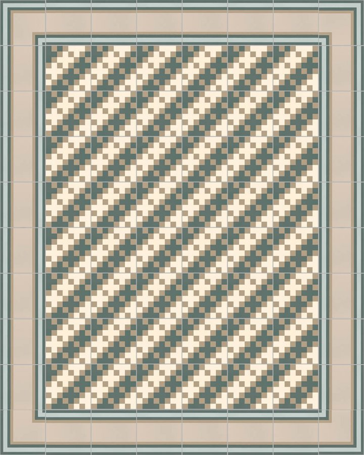 Floor tiles Floor Tiles multi-coloured Layouts and patterns SFTG 8306 G
