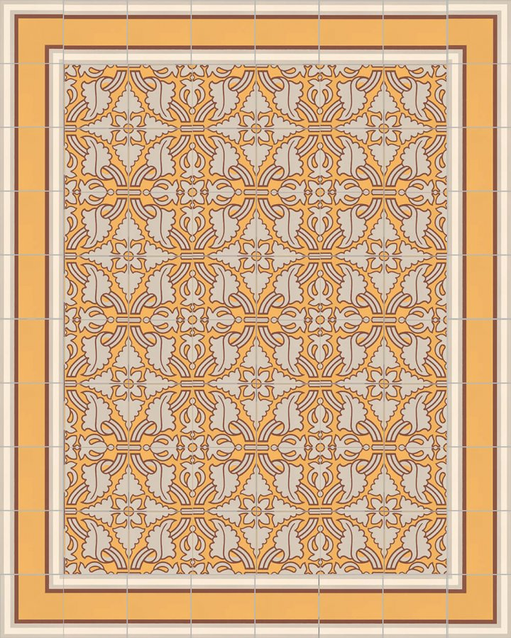 Floor tiles Floor Tiles multi-coloured Layouts and patterns SF 505 K