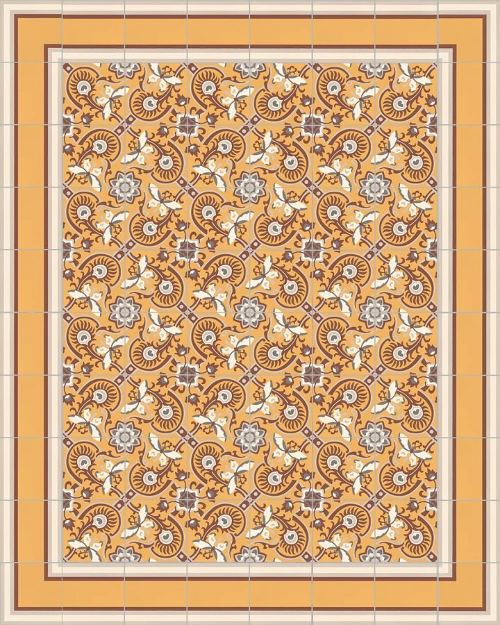Floor tiles Floor Tiles multi-coloured Layouts and patterns SF 505 K e