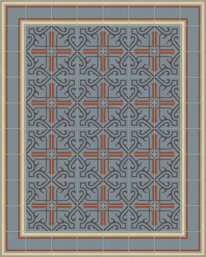 Floor tiles Floor Tiles multi-coloured Layouts and patterns SF 505 L e