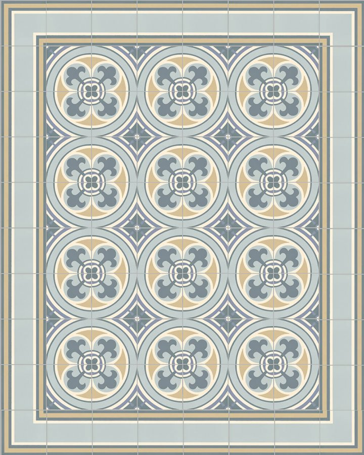 Floor tiles Floor Tiles multi-coloured Layouts and patterns SF 505 O