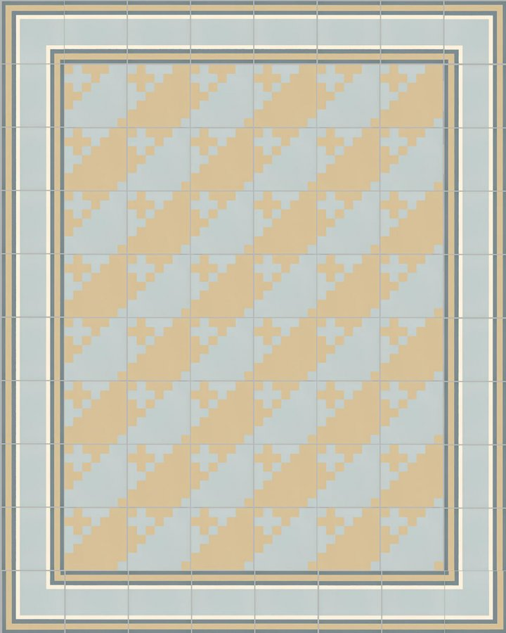 Floor tiles Floor Tiles multi-coloured Layouts and patterns SFTG 7201 O a