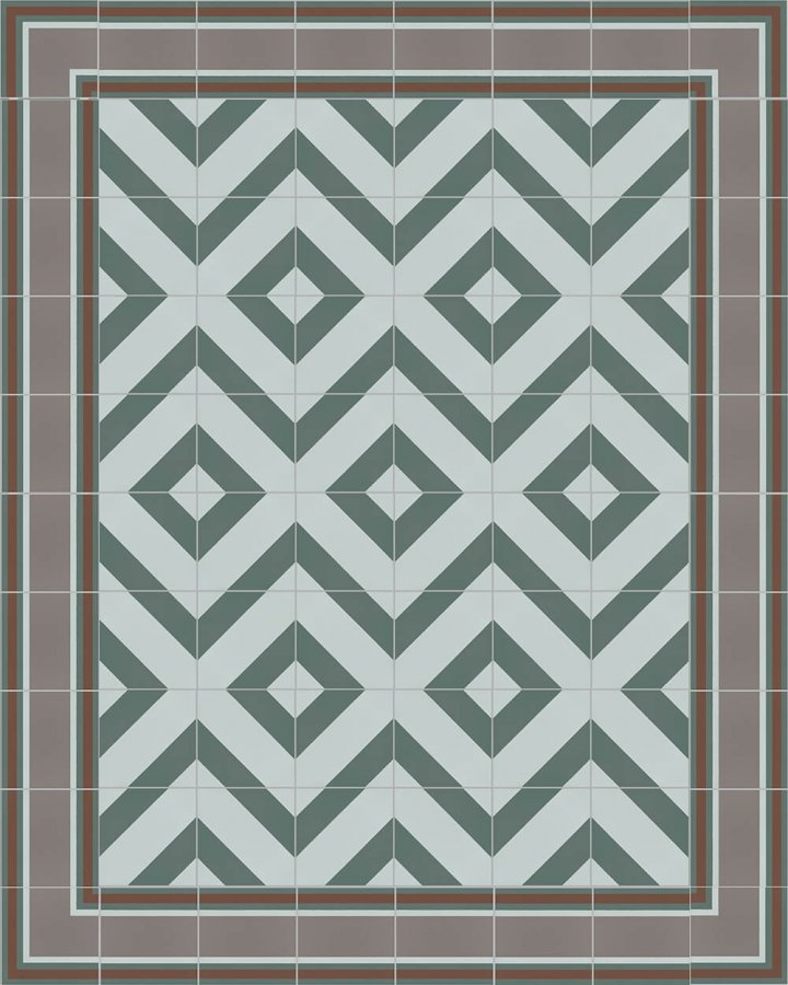 Floor tiles Floor Tiles multi-coloured Layouts and patterns SF 505 R e