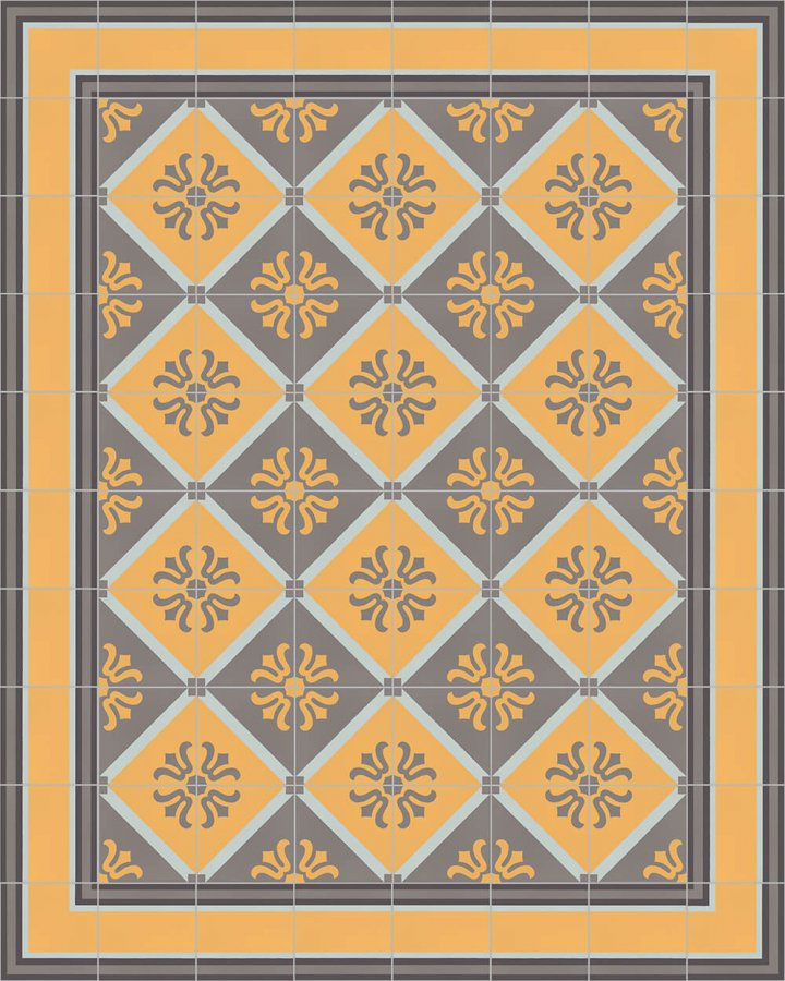 Floor tiles Floor Tiles multi-coloured Layouts and patterns SF 505 H