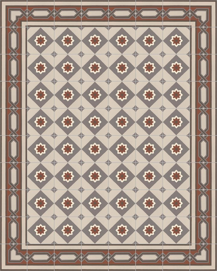 Floor tiles Floor Tiles multi-coloured Layouts and patterns SF 557 F e