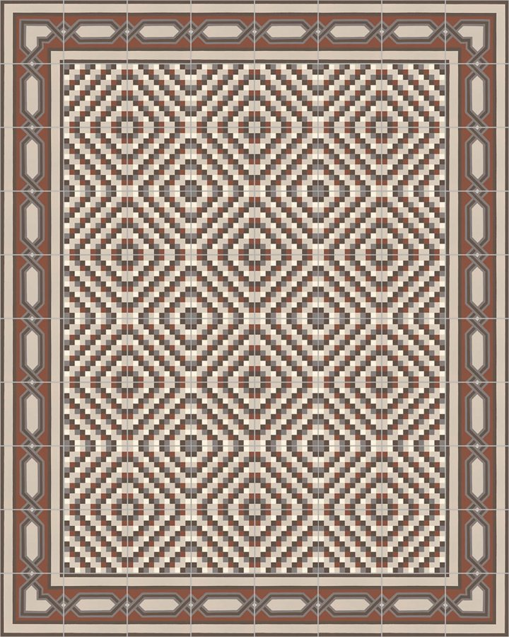 Floor tiles Floor Tiles multi-coloured Layouts and patterns SF 557 F