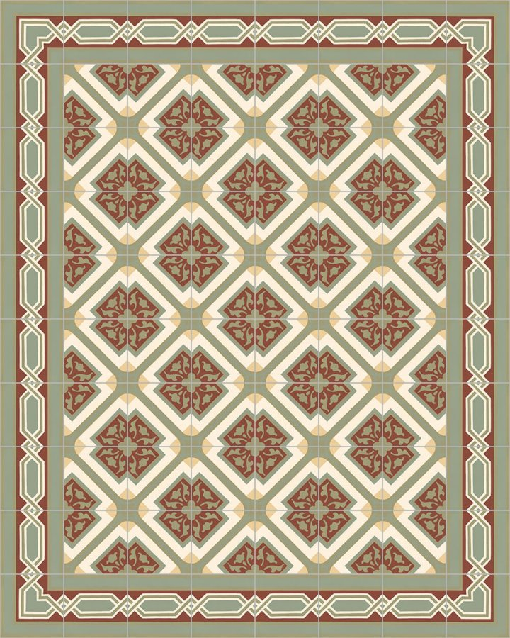 Floor tiles Floor Tiles multi-coloured Layouts and patterns SF 557 I