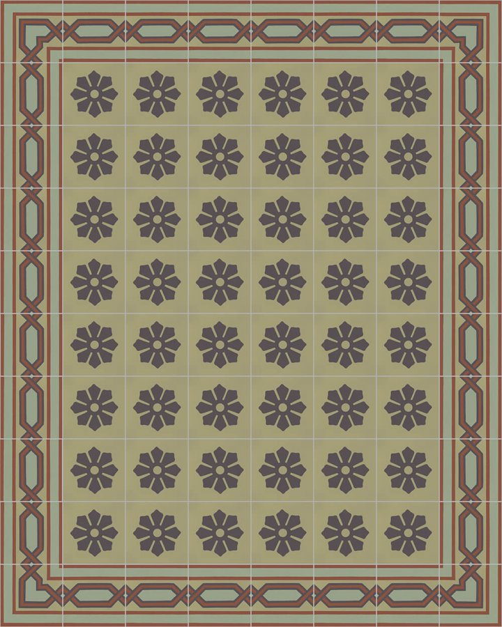 Floor tiles Floor Tiles multi-coloured Layouts and patterns SF 557 J