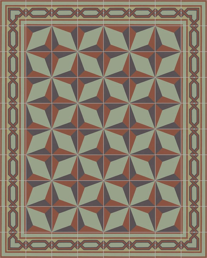Floor tiles Floor Tiles multi-coloured Layouts and patterns SF 557 J e