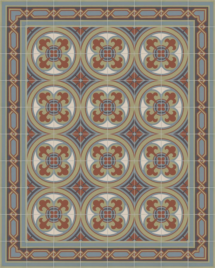 Floor tiles Floor Tiles multi-coloured Layouts and patterns SF 557 L e