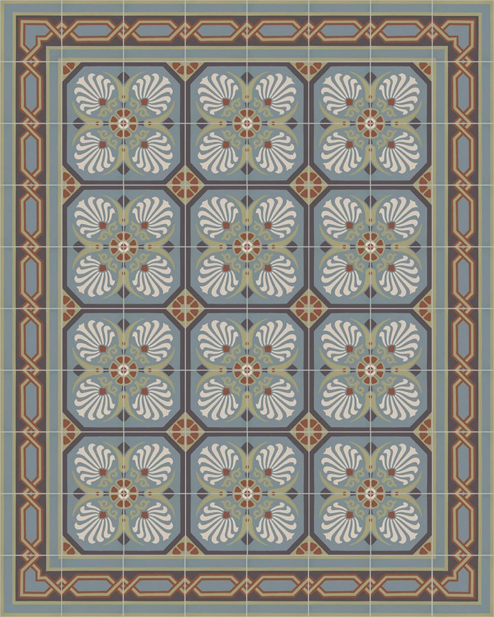 Floor tiles Floor Tiles multi-coloured Layouts and patterns SF 557 L