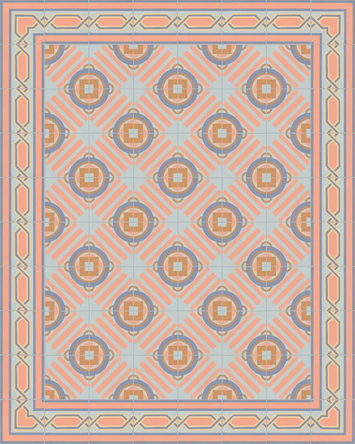 Floor tiles Floor Tiles multi-coloured Layouts and pattern SF 557 N e