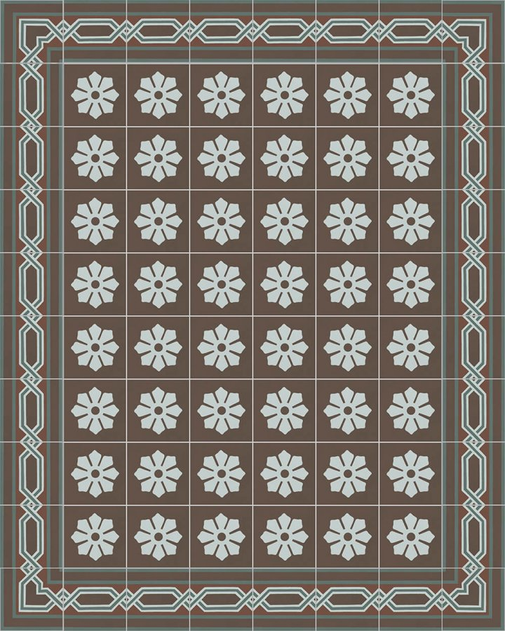 Floor tiles Floor Tiles multi-coloured Layouts and patterns SF 557 R e