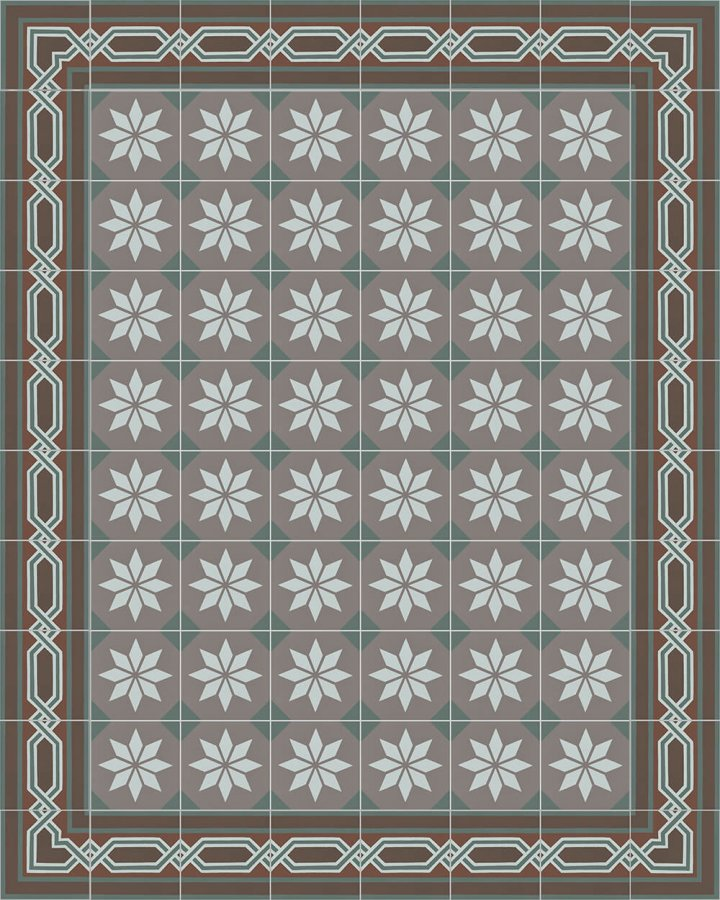 Floor tiles Floor Tiles multi-coloured Layouts and patterns SF 557 R