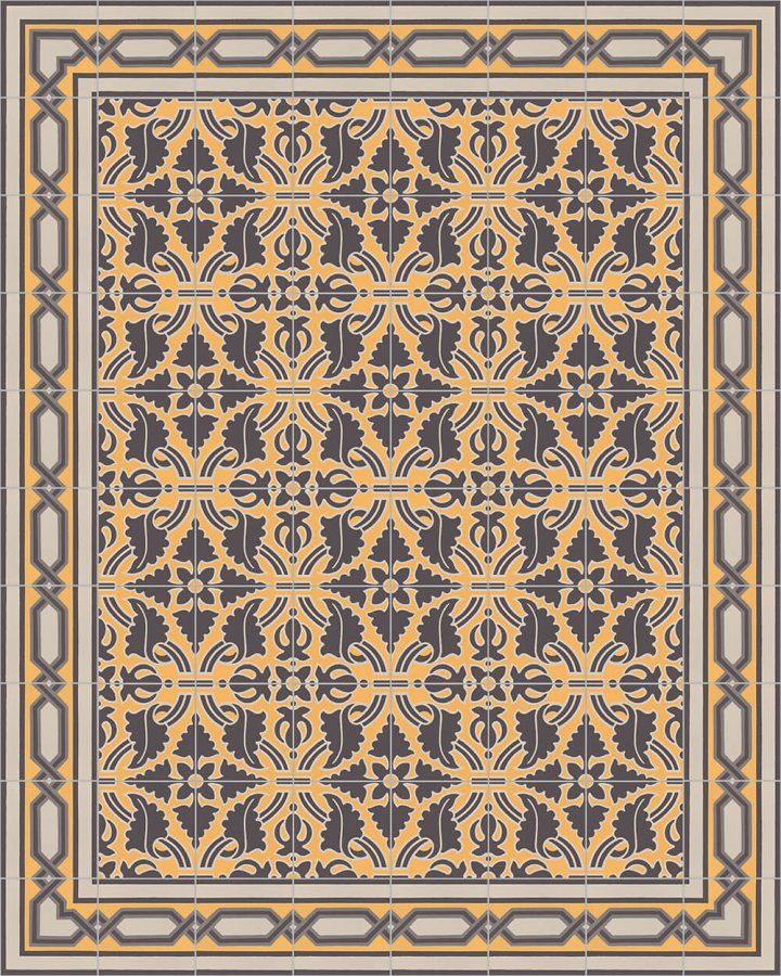 Floor tiles Floor Tiles multi-coloured Layouts and patterns SF 557 H e