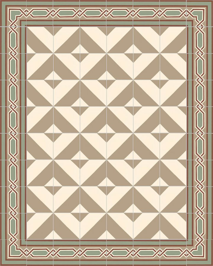 Floor tiles Floor Tiles multi-coloured Layouts and patterns SF 209 S