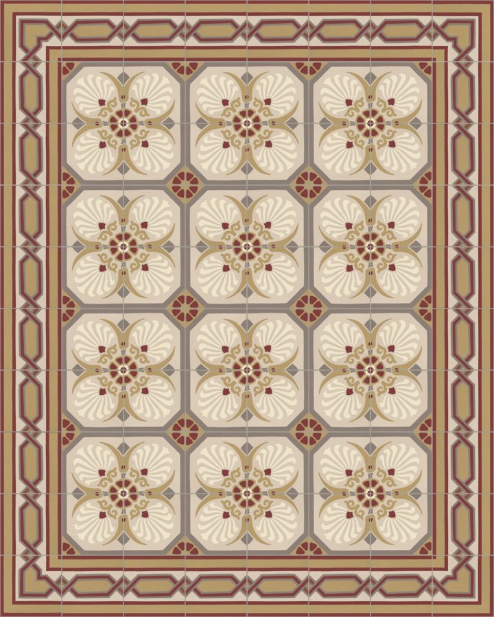 Floor tiles Floor Tiles multi-coloured Layouts and patterns SF 558 D