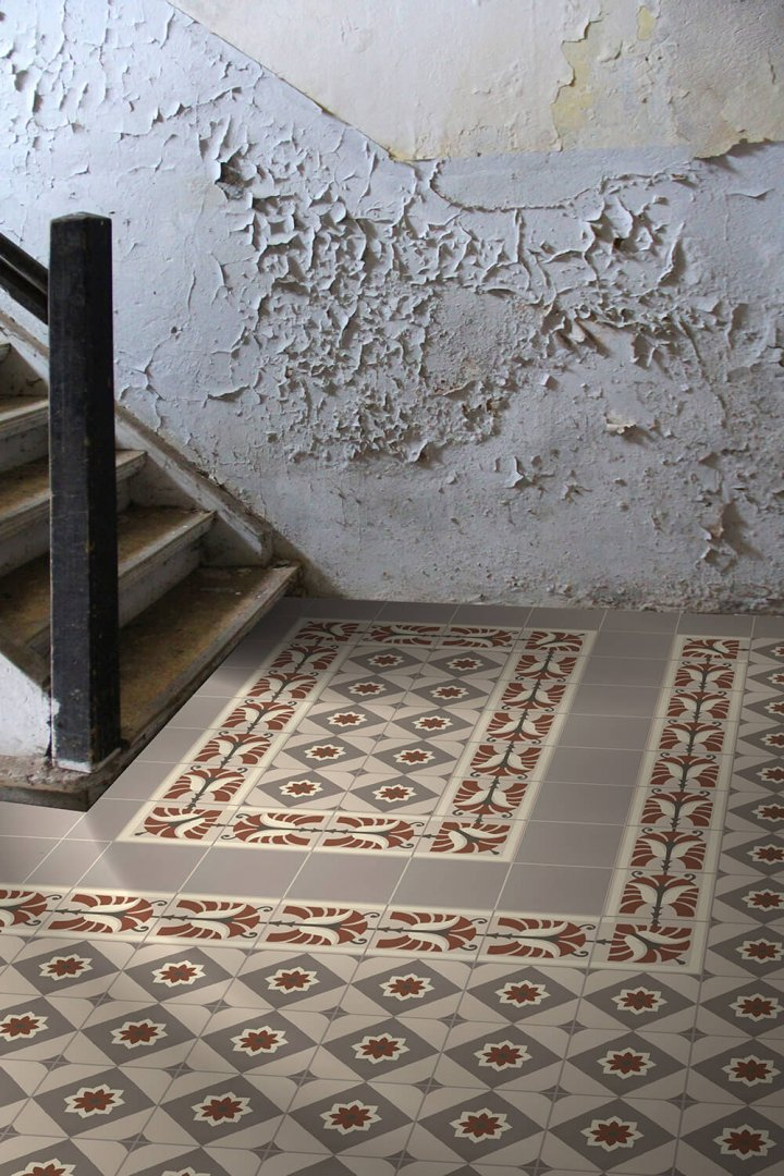 Floor tiles Floor Tiles multi-coloured Layouts and patterns SF 562 F
